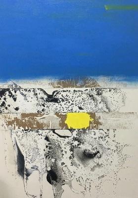 Beata Daly - The View, oils, acrylics, mixed media, 2017