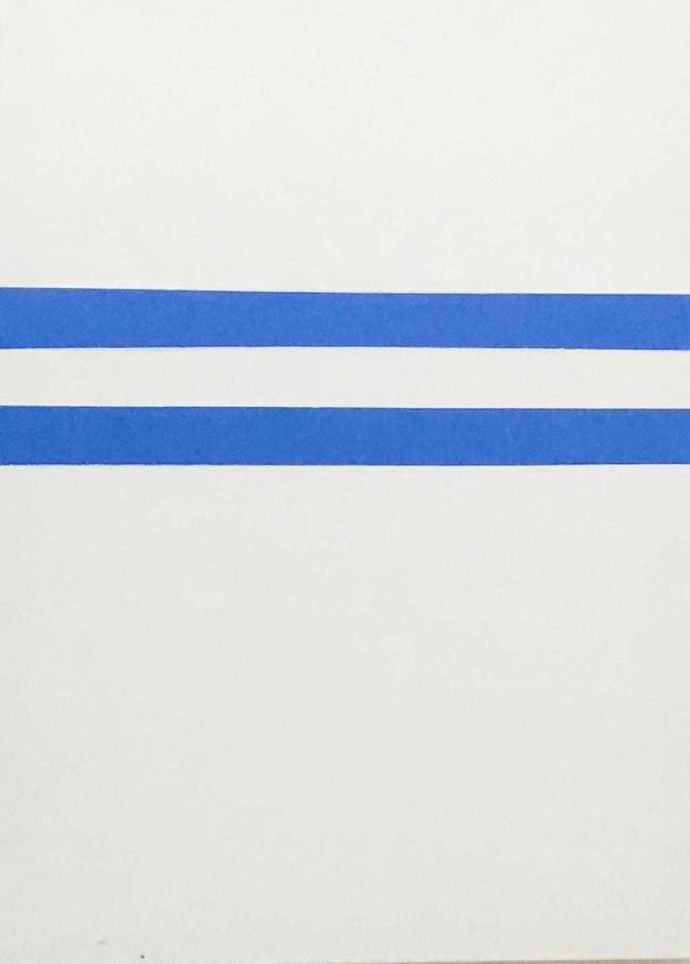Beata Daly - Tranqulitas Terrae, oils and acrylics, 2017