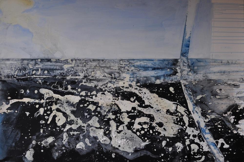 Beata Daly - Storm, Inisheer, 2017 (hurricane)