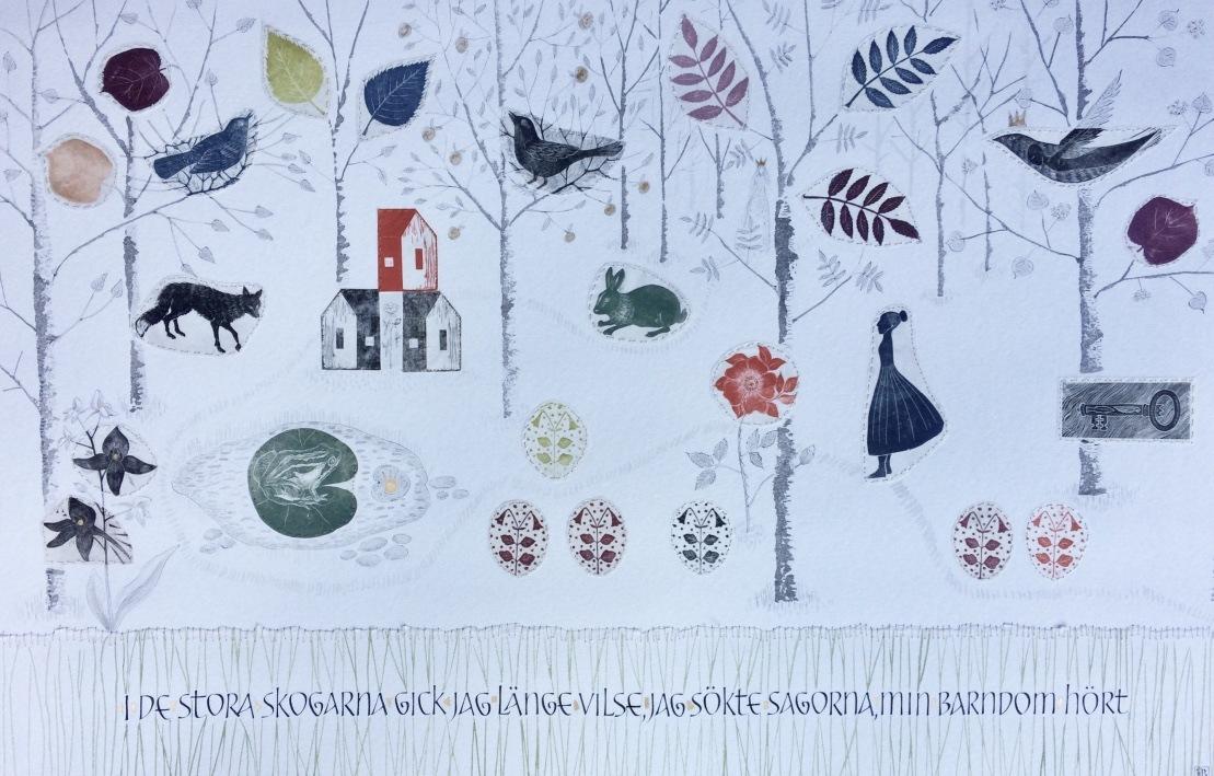 Firingan Kalligrafi - I de stora skogarna