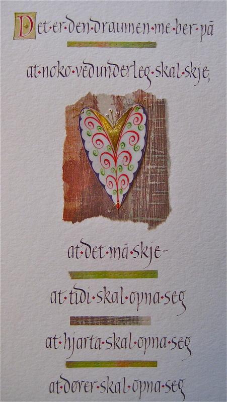 Firingan Kalligrafi - Det er den draumen 1