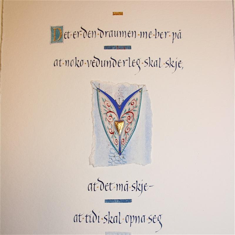 Firingan Kalligrafi - Det er den draumen 2