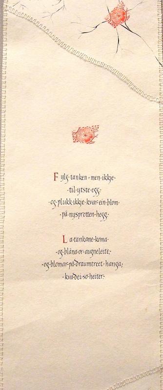 Firingan Kalligrafi - Fylg tanken