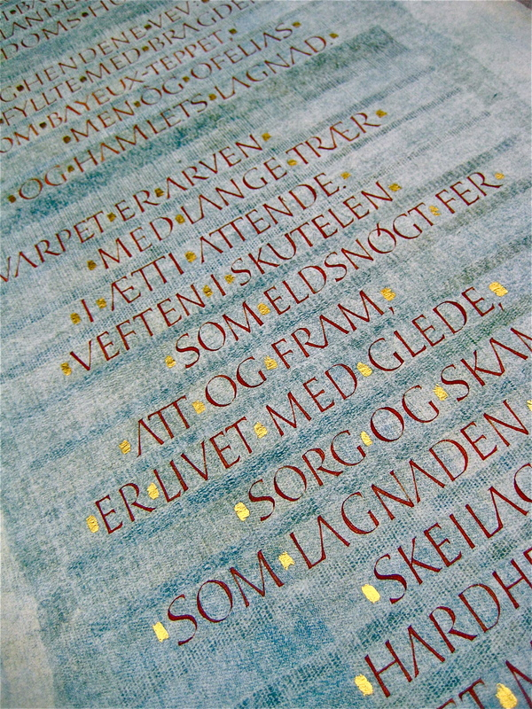 Firingan Kalligrafi - Hendene vev