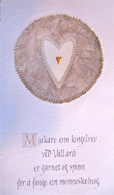 Firingan Kalligrafi - Kingelvev ved Vallarå 1
