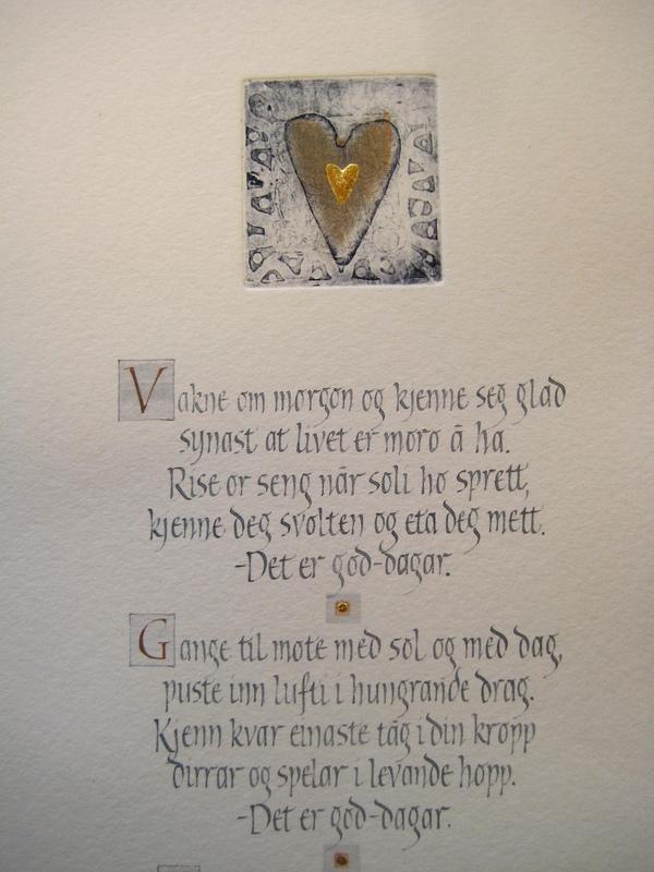 Firingan Kalligrafi - God-dagar