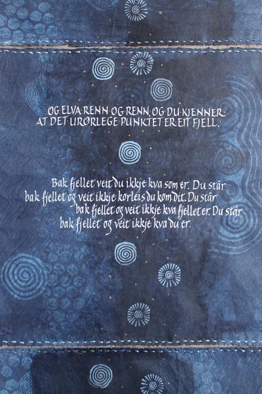 Firingan Kalligrafi - Langs å 1