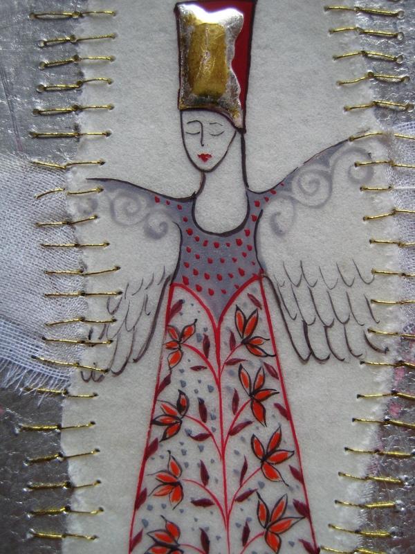Firingan Kalligrafi - Engel 1 detalj