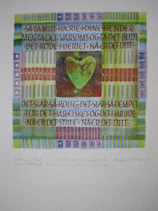 Firingan Kalligrafi - Så ta mitt hjerte