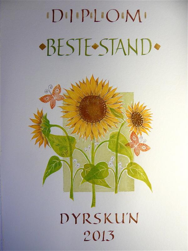 Firingan Kalligrafi - Dyrsku´n, Beste stand
