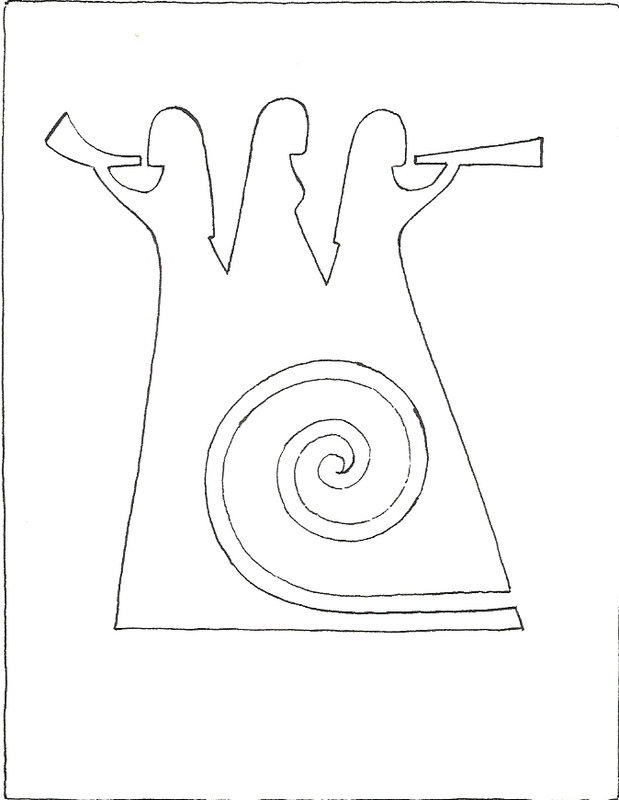 Firingan Kalligrafi - Utkast til Landskappleik-logo 2011