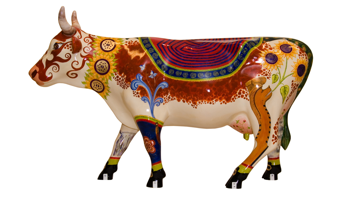 Firingan Kalligrafi - Cow Parade Telemark 2