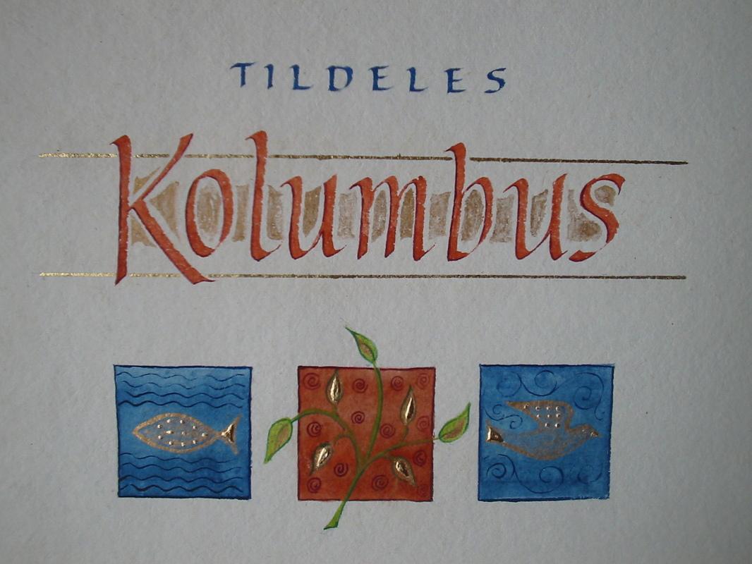 Firingan Kalligrafi - Miljøpris detalj
