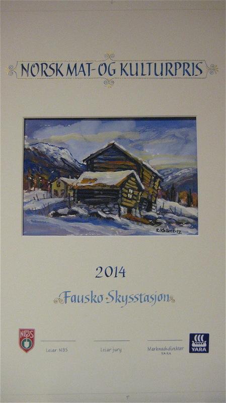 Firingan Kalligrafi - Norsk meat- og kulturpris, delt ut av Noregs bonde- og småbrukarlag og Yara