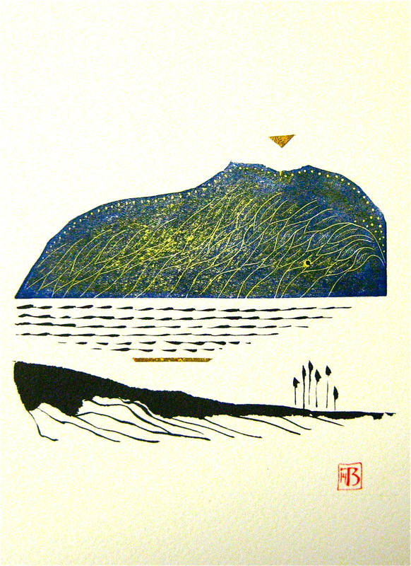 Firingan Kalligrafi - Fjellveng 2, gul