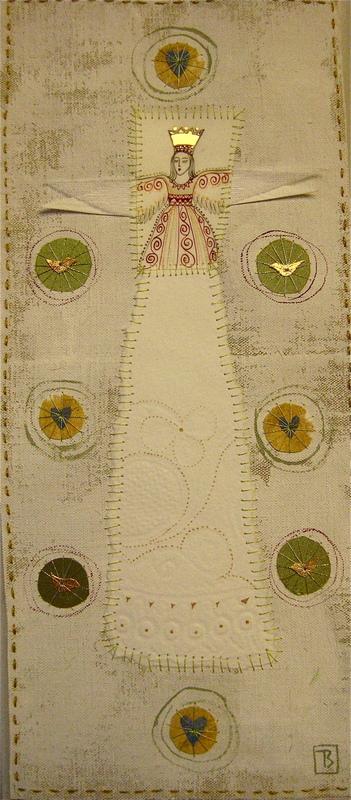 Firingan Kalligrafi - Engel for nytt liv, grøn