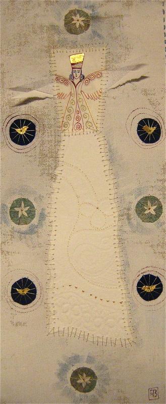 Firingan Kalligrafi - Engel for nytt liv, blå