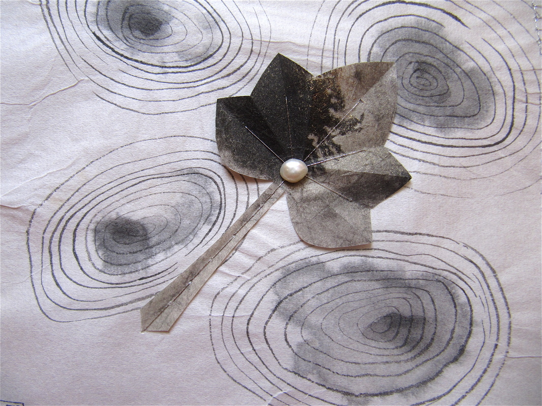 Firingan Kalligrafi - Lauv på vatn 3