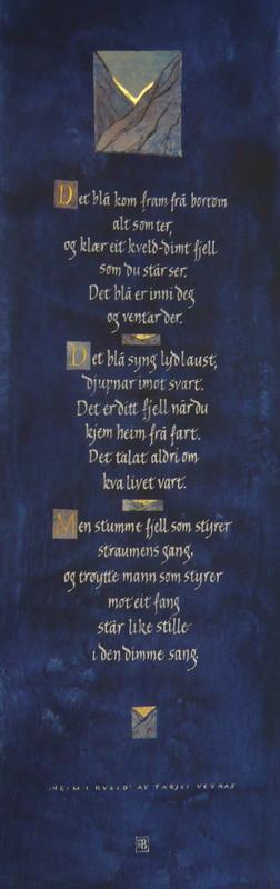 Firingan Kalligrafi - Heim i kveld