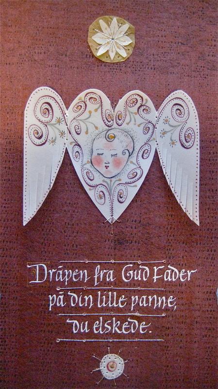 Firingan Kalligrafi - Irsk velsignelse 2, detalj