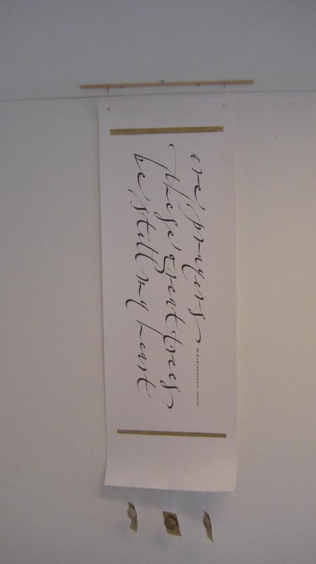 Firingan Kalligrafi - Gaynor Goffe, England