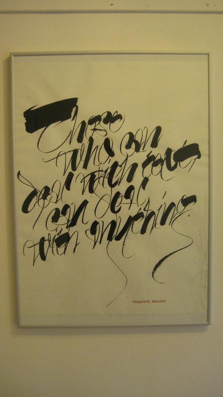 Firingan Kalligrafi - Jean Larcher, Frankrike