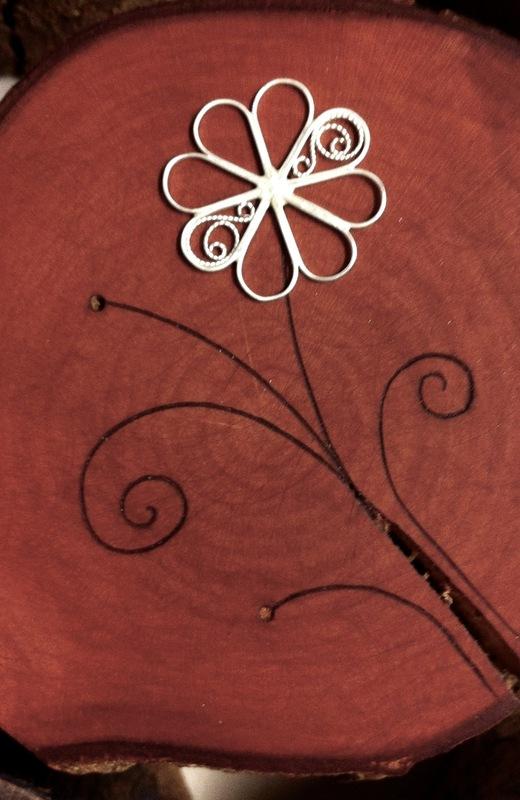 Firingan Kalligrafi - Blom i tre 1