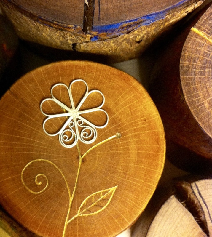 Firingan Kalligrafi - Blom i tre 3