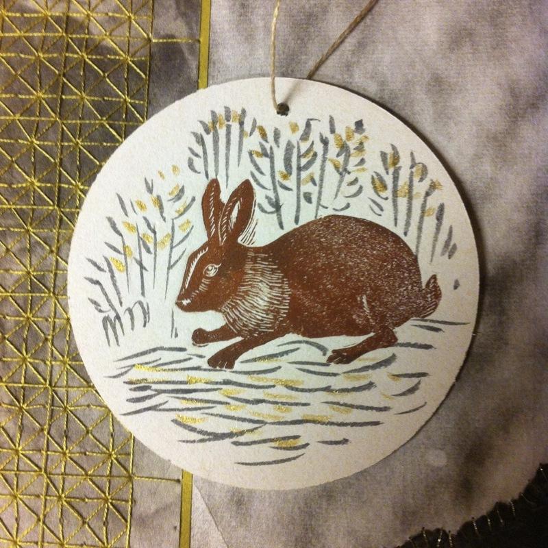 Firingan Kalligrafi - Pynt hare, 1 stk