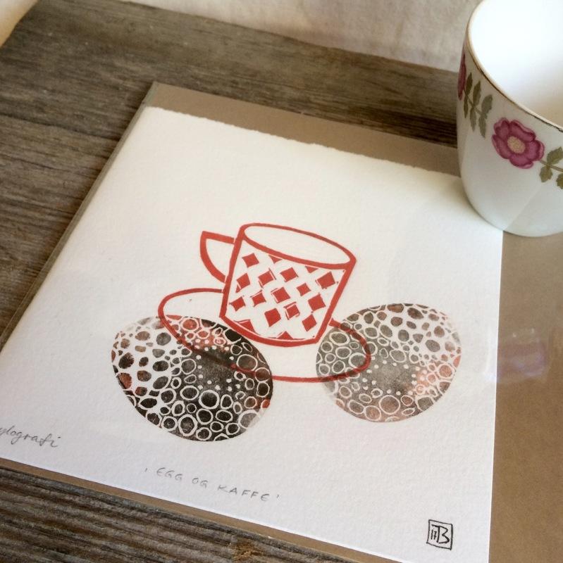 Firingan Kalligrafi - Egg og kaffe