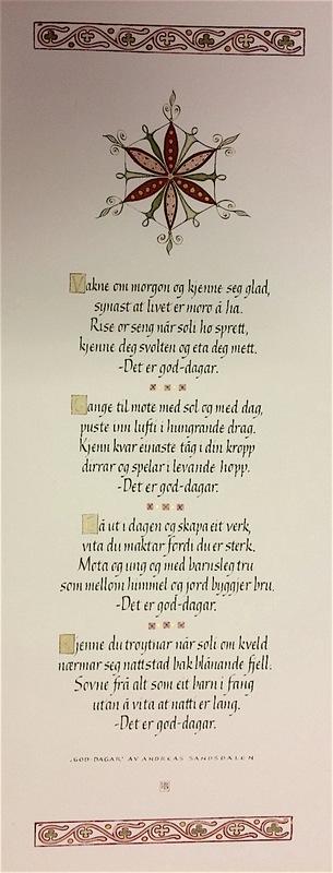 Firingan Kalligrafi - Inkluderingspris for Seljord