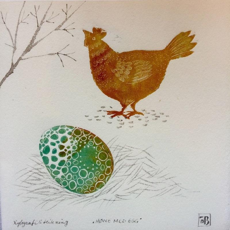 Firingan Kalligrafi - Høne og egg