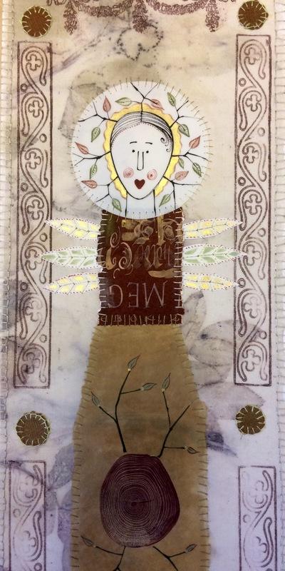 Firingan Kalligrafi - Vaktar for skaparverket III, detalj