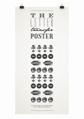 BY V - The Letter Transfer Poster