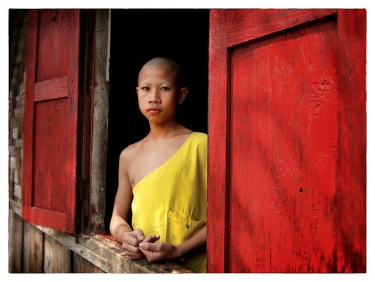 Andrew Bannerman-Bayles - Young Buddhist Monk Luang Prabang, Laos