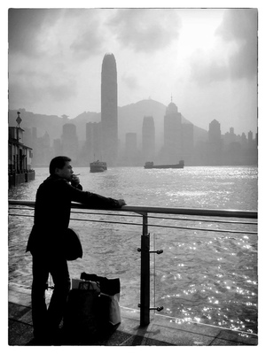 Andrew Bannerman-Bayles - View of Hong Kong Kowloon, China