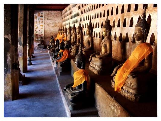 Andrew Bannerman-Bayles - Buddhist Temple Vientiane, Laos