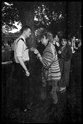 Andrew Bannerman-Bayles - Punks Picnic 1988 Hyde Park