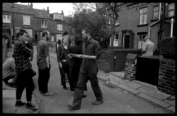 Andrew Bannerman-Bayles - Squat eviction Woodhouse