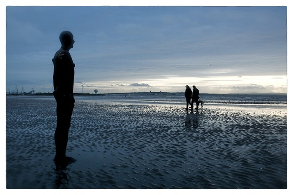 Andrew Bannerman-Bayles - Anthony Gormley Installation Formby, Merseyside