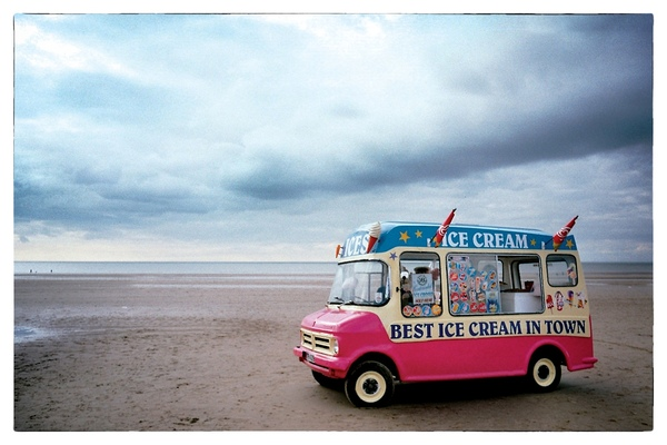 Andrew Bannerman-Bayles - Last Ice Cream In Town Blackpool Pleasure Beach