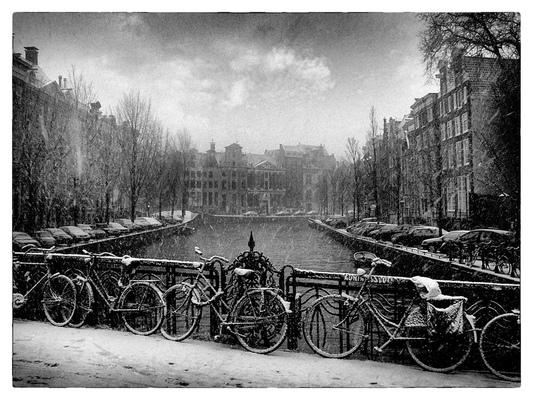 Andrew Bannerman-Bayles - Leidsestraat Bridge over Keizergracht Amsterdam