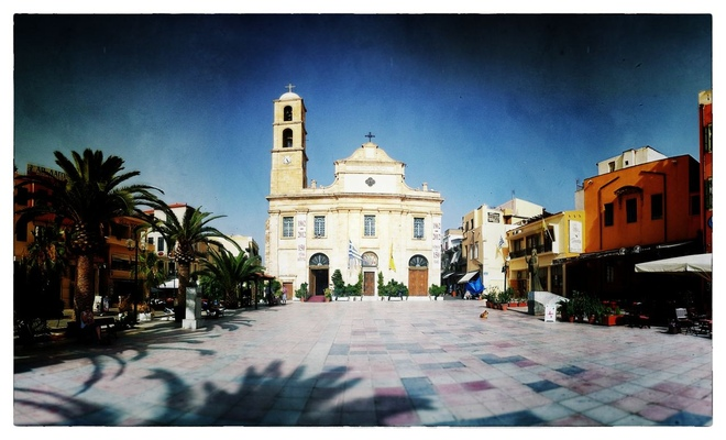 Andrew Bannerman-Bayles - Greek Orthodox Cathedral Chania, Crete