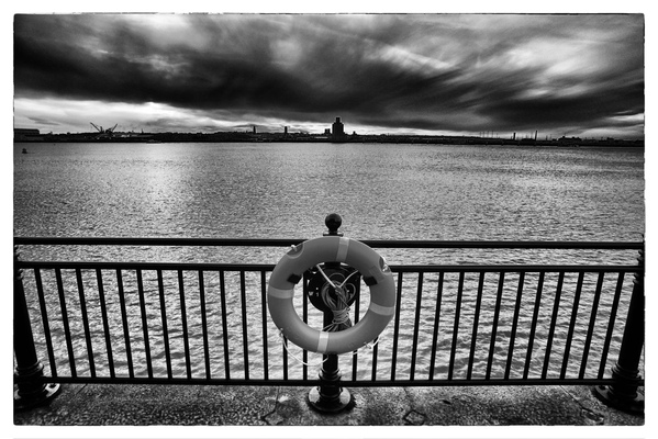 Andrew Bannerman-Bayles - View Across The Mersey Liverpool