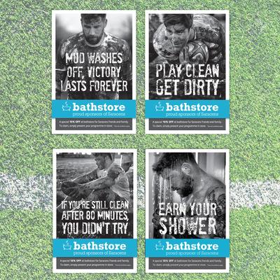 Andrew Bannerman-Bayles - Saracens Programme Sponsorship  Bathstore