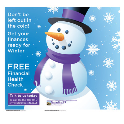 Andrew Bannerman-Bayles - Xmas Financial Health Check Campaign  Derbyshire Building Society