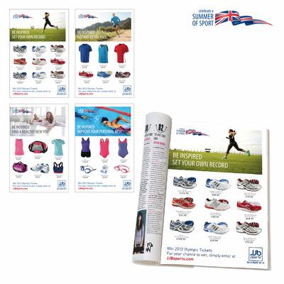 Andrew Bannerman-Bayles - Summer Of Sport Campaign - Magazine Ads  JJB Sports