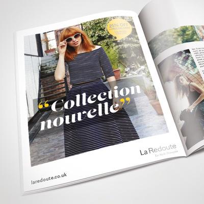 Andrew Bannerman-Bayles - Magazine Advert  La Redoute