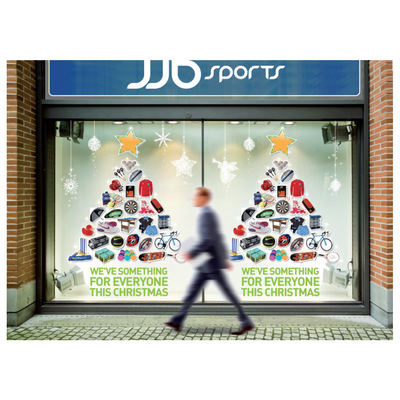 Andrew Bannerman-Bayles - Xmas Window Campaign   JJB Sports
