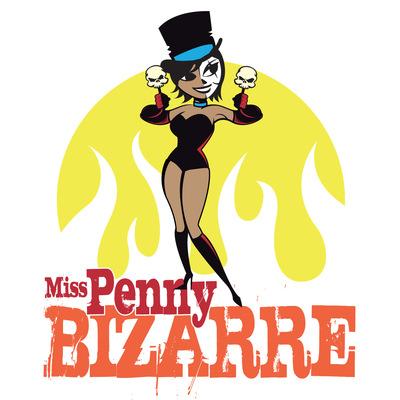 Andrew Bannerman-Bayles - Penny Bizarre Burlesque Artiste